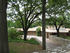 Frank Lloyd Wright Dallas Buildings : John A. Gillin House in Dallas, Texas. Designed by Frank Lloyd Wright around 1950, completed in 1958. It was also featured in the 1996 Wes Anderson movie &quot;Bottle Rocket&quot; with Owen &amp; Luke Wilson. It was the house of Bob Mapplethorpe (character name) in the movie. It was Wright's last home constructed before his death. I've added several photo updates since the first ones were taken in 2005.